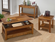 Jofran 480-1-3-4 SEDONA OAK FINISH OCCASIONAL TABLE SET