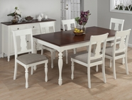 Jofran 693-76-4x713KD CHESTERFIELD TAVERN RECTANGLE LEG TABLE SET