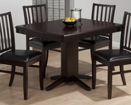 Jofran 825-44B-T ASPEN MERLOT FINISH PEDESTAL TABLE