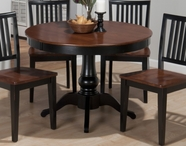 "Jofran 841-42B-T MADISON COUNTY 42"" ROUND FIXED TOP TABLE"