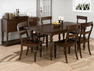 Jofran 871-72-4x352KD HARWICH CHERRY FINISH RECTANGLE TABLE SET