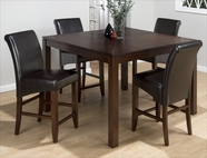 Jofran 888-53-BS485KD CARLSBAD CHERRY FINISH COUNTER HEIGHT TABLE SET