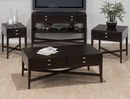 Jofran 934-1-3-4-7 GRANBY ESPRESSO FINISH OCCASIONAL TABLE SET