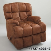 Lane 11727-4904-17 Taz Pad-Over Rocker Recliner