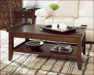 Lane 11921-01-07 Meridien Coffee Table Set Meridien in Rich Dark