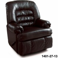Lane 1401-27-13 Sherman Hide-A-Chaise Wall Saver Recliner