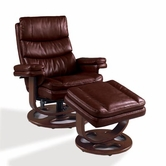 Lane 18523-26-40 Ciao Reclining Chair and Ottoman