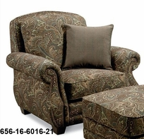 Lane 656-16 Westbury Stationary Chair with Nailhead Trim