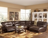 Leather Reclining Sectionals