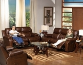 Leather Reclining Sofa Sets
