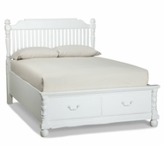 Legacy Classic 0850-4724K Olivia Complete Low Poster Bed with Storage Footboard Full 4/6