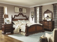 Legacy Classic 1080-4901K-1200-0200 Royal Traditions Bedroom Set