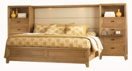 Legacy Classic 1400-4127K Monterey Complete Panel Bed w/Storage Footboard CA King 6/0**