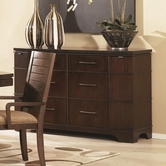 Legacy Classic 1690-151 Portfolio Credenza with Granite Top