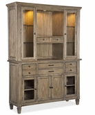 Legacy Classic 2760-151-152  Brownstone Credenza and Hutch