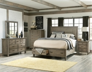 Legacy Classic 2760-4105K-1200-0100 Brownstone Village Bedroom Set