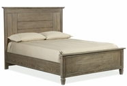 Legacy Classic 2760-4105K Brownstone Village Complete Panel Bed Queen 5/0