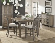 Legacy Classic 2760-920-947 Brownstone Village Counter Height Dining Set