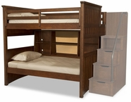 Legacy Classic 2960-8508K Dawson's Ridge Complete Full over Twin Bunk w/Bedside Storage