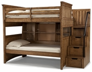 Legacy Classic 2961-8505K-8000-8155 Timber Lodge Complete Twin over Twin Bunk