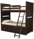 Legacy Classic 2970-8106SK Benchmark Complete Twin over Twin Bunk with Underbed Storage Drawer