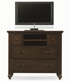 Legacy Classic 3700-2800 Thatcher Media Chest (4 Drawers, 1 Rem. Shelf w/Cord Access)