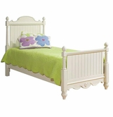 Legacy Classic 481-4104K Summer Breeze Complete Scroll Top Poster Bed Full 4/6