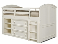 Legacy Classic 481-8333-8330-8320 Summer Breeze Twin Mid Loft Bed