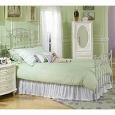 Legacy Classic 485-5004 Enchantment Complete White Metal Bed, Full 4/6