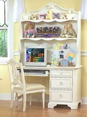 Legacy Classic 488-6100C-6200C Reflections Computer Desk and Hutch