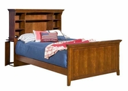 Legacy Classic 490-4804K American Spirit Complete Bookcase Bed using Rails Full 4/6