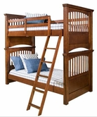 Legacy Classic 490-8105K American Spirit Complete Twin over Twin Bunk Bed