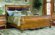 Legacy Classic 625-4305K Versailles Complete Leather Sleigh Bed Queen 5/0