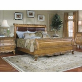 Legacy Classic 625-4306K Versailles Complete Leather Sleigh Bed King 6/6