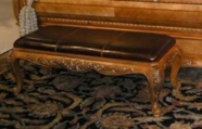 Legacy Classic 625-4800C Versailles Leather Upholstered Bench