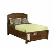 Legacy Classic 892-4724K Newport Beach Complete Panel Bed with Storage Footboard Full 4/6