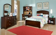 Legacy Classic 9980-4733K-1100-0300 Park City in Merlot Bedroom Set