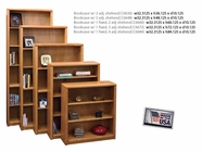 Legends Furniture CC6672.LTO Bookcase w/ 1 fixed, 3 adj shelves