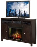"Legends Furniture CV5101.MOC Curve 61"" Fireplace"