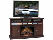 "Legends Furniture FC5101.DNC Fire Creek 62"" Fireplace Console"
