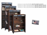 "Legends Furniture FC6672.DNC Fire Creek 72"" Bookcase"