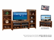 Legends Furniture OC3207.GDO Oak Creek Bookcase Pier