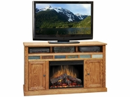 "Legends Furniture OC5101.GDO Oak Creek 62"" Fireplace Console"