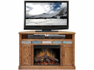 "Legends Furniture OC5102.GDO Oak Creek 56"" Corner Fireplace"