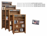 "Legends Furniture OC6636.GDO Oak Creek 36"" Bookcase"