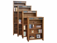 "Legends Furniture OC6684.GDO Oak Creek 84"" Bookcase"
