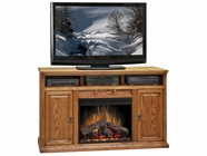 "Legends Furniture SD5101.RST Scottsdale 62"" Fireplace Console"