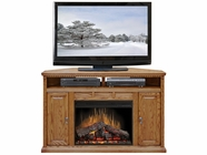 "Legends Furniture SD5102.RST Scottsdale 56"" Corner Fireplace"