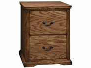 Legends Furniture SD6806.RST Scottsdale 2 Drawer File Cabinet