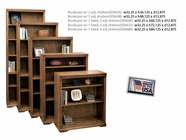 Legends Sd6872.Rst Bookcase w/1 Fixed, 3 Adj. Shelves